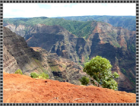 Blick in den Waimea Canyon
