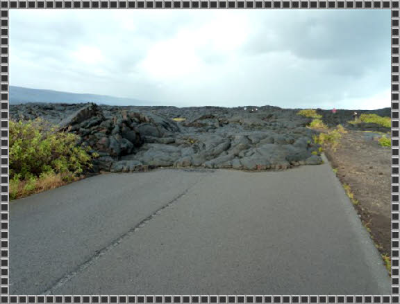 End of Chain of Craters Road