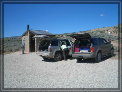 Parkplatz Wire Pass Trailhead
